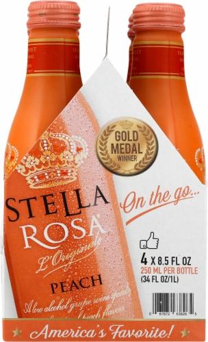Stella Rosa Peach Wine Perspective: right