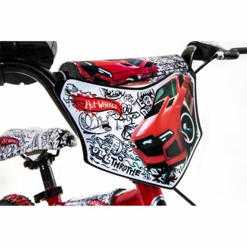 Dynacraft Hot Wheels® Beginner BMX Bike - Red/Black Perspective: right