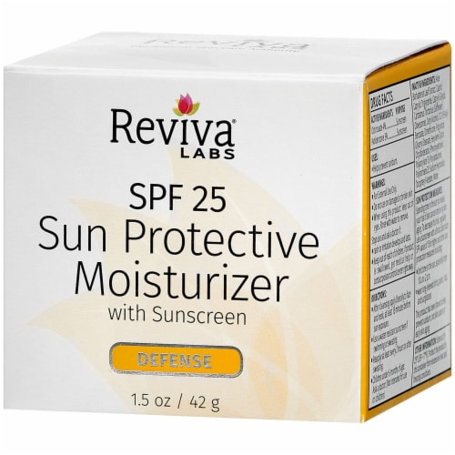Reviva Labs Defense Sun Protective Moisturizer Perspective: right