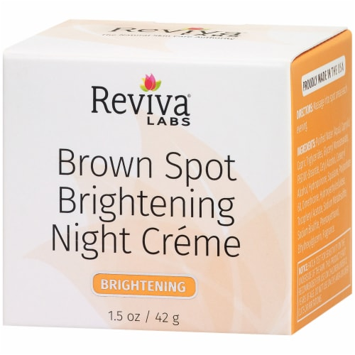 Reviva Labs Brown Spot Brightening Night Crème Perspective: right