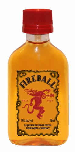 Fireball Adult Trick-Or-Treat Cinnamon Whisky Perspective: right