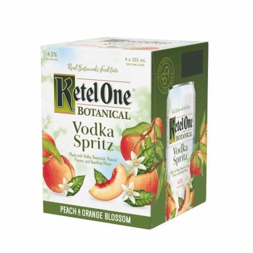 Ketel One Botanical Peach & Orange Blossom Vodka Spritz Perspective: right