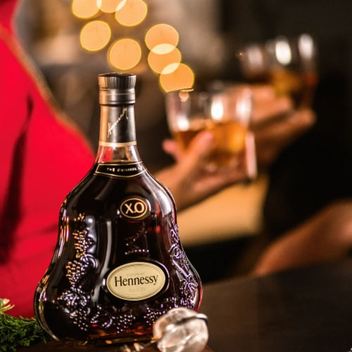 Hennessy XO Cognac Perspective: right