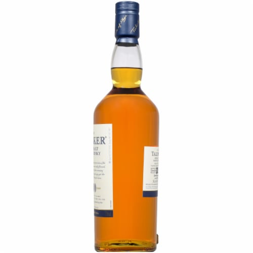 Talisker 10 Year Single Malt Scotch Whisky Perspective: right