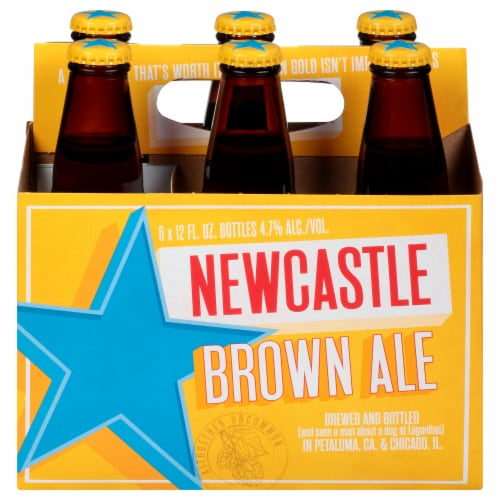 Newcastle Brown Ale Perspective: right