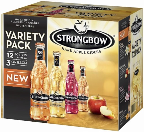 Strongbow Hard Apple Ciders Variety Pack Perspective: right