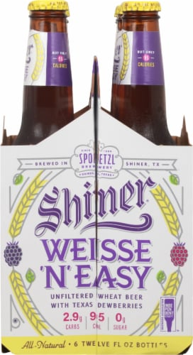 Shiner® Weisse 'N' Easy Wheat Beer Perspective: right