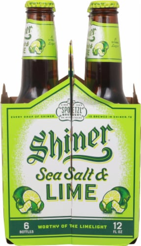 Shiner® Sea Salt & Lime Beer Perspective: right