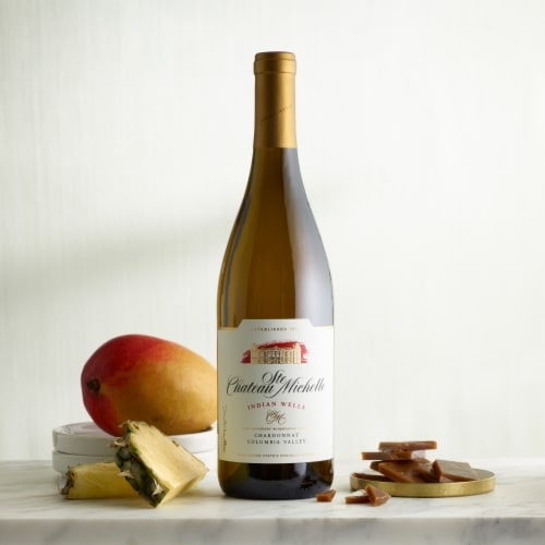 Chateau Ste Michelle Indian Wells Chardonnay White Wine Perspective: right