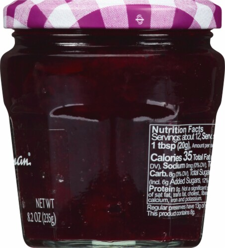 Bonne Maman Intense Cherry Fruit Spread Perspective: right