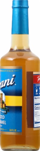 Torani Sugar Free Salted Caramel Syrup Perspective: right