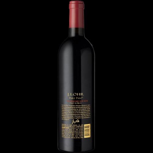 J. Lohr Pure Paso Proprietary Red Wine Perspective: right