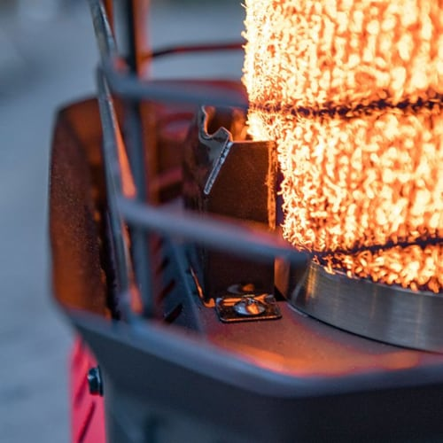 Mr. Heater 11,000 BTU Buddy FLEX Liquid Propane Portable Radiant Space Heater Perspective: right