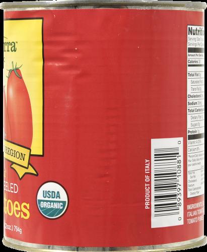 Bella Terra Organic Italian Whole Peeled Tomatoes Perspective: right