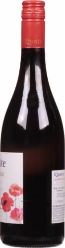 Ruinite Lambrusco Red Wine Perspective: right