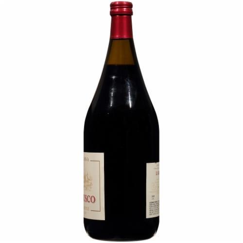 Notte Rossa Lambrusco Italian Red Wine Perspective: right