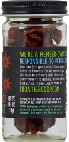 Frontier Co-Op Whole Star Anise Perspective: right