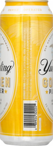 Yuenling Golden Pilsner Lager Perspective: right