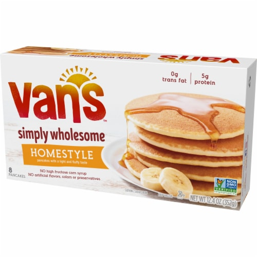 Van's Homestyle Pancakes - 8 ct Perspective: right