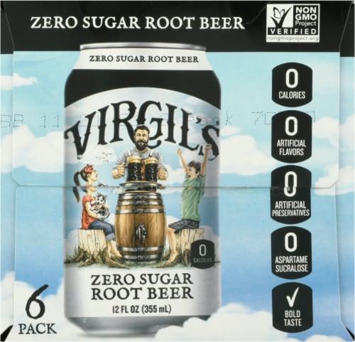 Virgil's Zero Sugar Root Beer Perspective: right