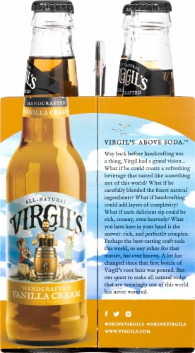 Virgil's Micro-Brewed Cream Soda Perspective: right