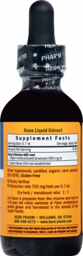 Herb Pharm Kava Nervous System Herbal Supplement Perspective: right