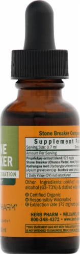 Herb Pharm Stone Breaker Urinary System Restoration Herbal Supplement Perspective: right