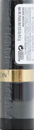 Revlon Super Lustrous Rum Raisin Lipstick Perspective: right