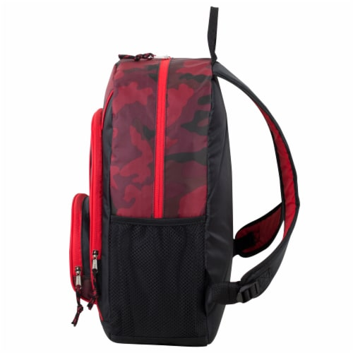 Fuel Triple Decker Backpack - Red Army Camo Perspective: right
