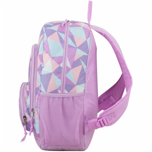 Fuel Crystal Clear Triple Decker Backpack - Peach/White Perspective: right