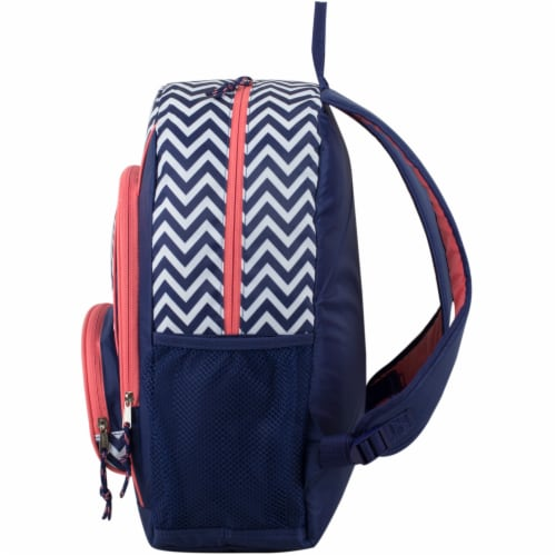 Fuel Triple Decker Backpack - Black/White Chevron Perspective: right