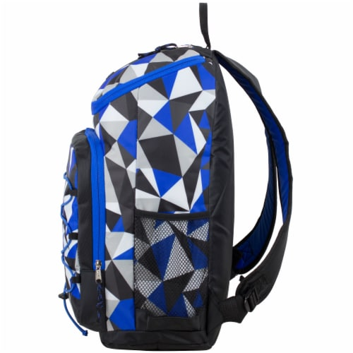 Fuel Wide Mouth Bungee Backpack - Cobalt Splash/Clear Perspective: right