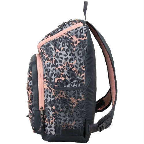 Fuel Wide Mouth Bungee Backpack - Cheetah Tie-Dye Perspective: right