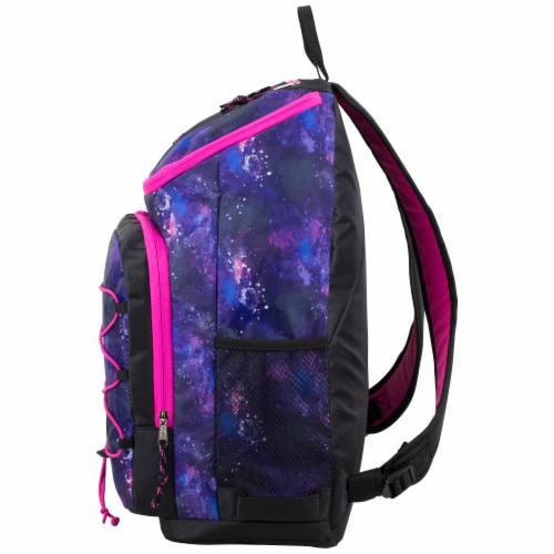 Fuel Wide Mouth Bungee Backpack - Galaxy Perspective: right