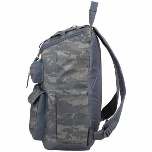 Fuel Wide Mouth Cargo Backpack - Static Camo Perspective: right