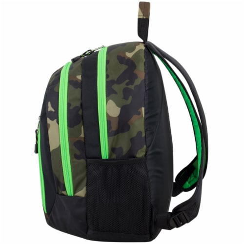 Eastport Active 2.0 Backpack - Camo/Lime Sizzle Perspective: right
