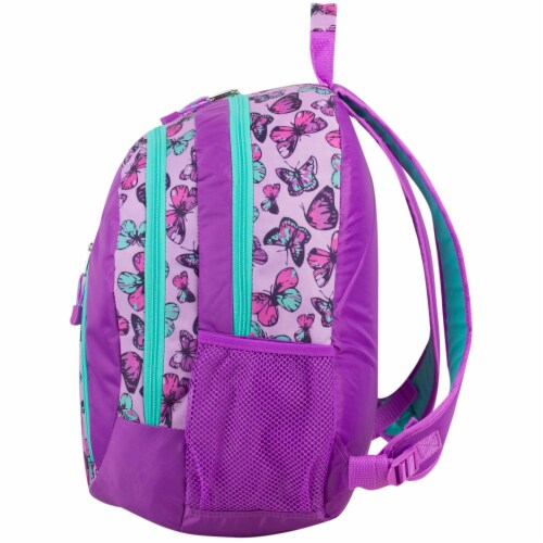 Eastport Active 2.0 Backpack - Colorful Butterflies Perspective: right