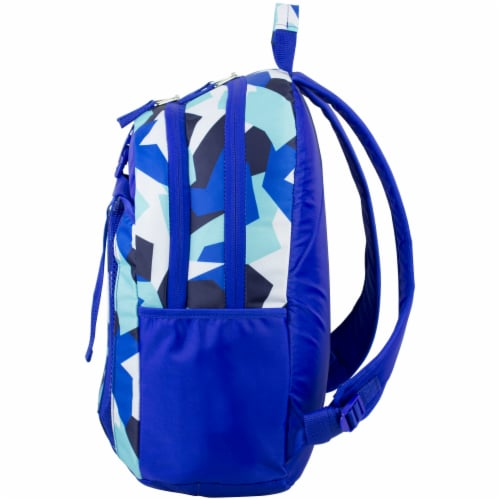 Fuel Deluxe Lunch Bag & Backpack Combo - Jagged Shapes Perspective: right