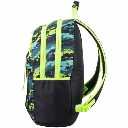 Fuel Deluxe Lunch Bag & Backpack Combo - Static Camo Perspective: right