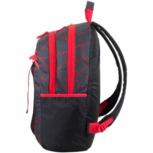 Fuel Deluxe Lunch Bag & Backpack Combo - Geometric Cracks Perspective: right