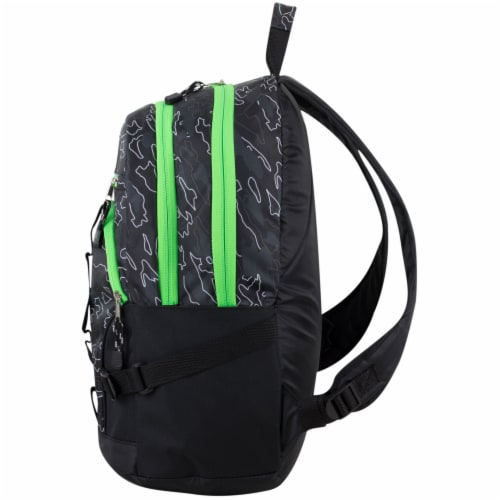 Fuel Dynamo Backpack - Camo Outline Perspective: right