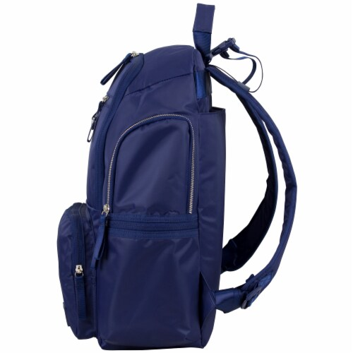Bodhi Baby Lafayette Street Diaper Backpack - Deep Cobalt Perspective: right