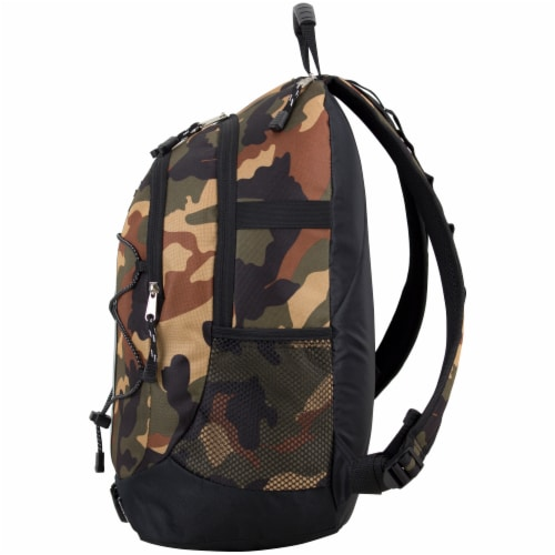 Fuel Army Camo Terra Sport Bungee Backpack Perspective: right