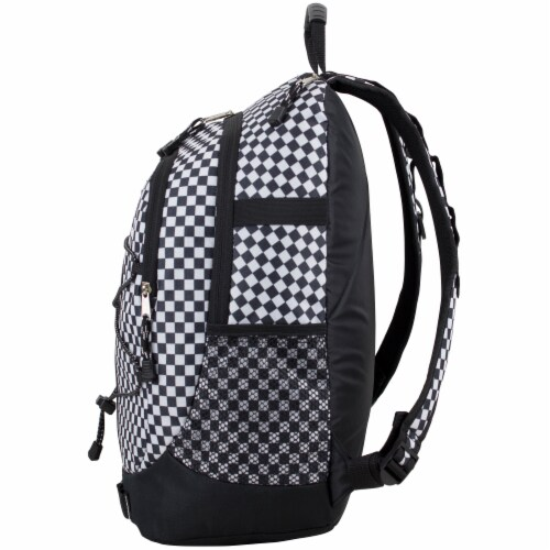 Fuel Checker Plaid Terra Sport Bungee Backpack Perspective: right