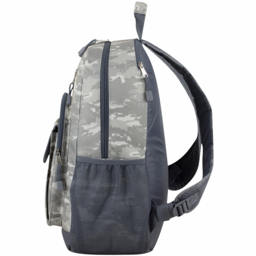 Eastport Static Camo Future Tech Backpack Perspective: right