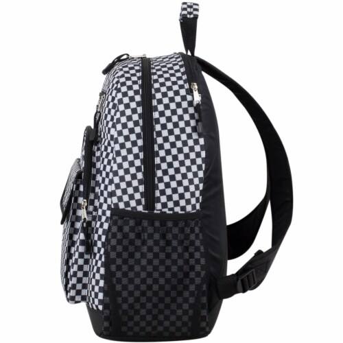 Eastsport Future Tech Backpack - Checker Plaid Perspective: right