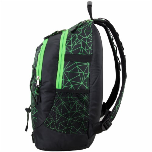 Fuel Shattered Geo Terra Sport Bungee Backpack Perspective: right