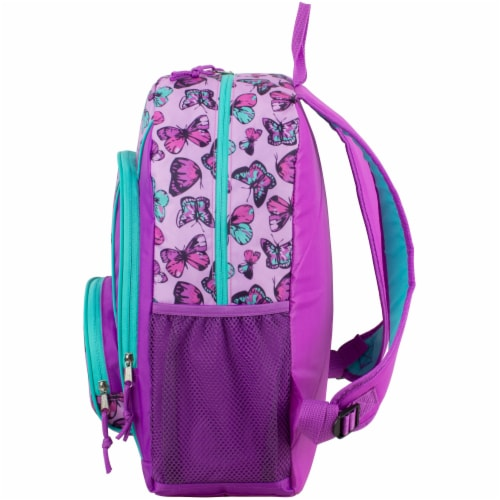 Fuel Colorful Butterflies Triple Decker Backpack Perspective: right