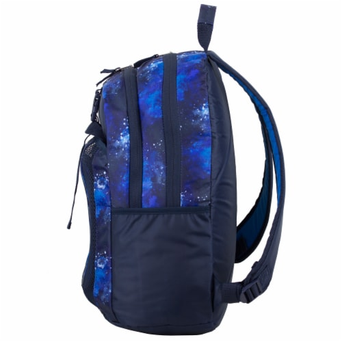 Fuel Deluxe Backpack/Lunch Bag Combo - Blue/Black Perspective: right
