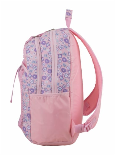 Fuel Deluxe Backpack/Lunch Bag Combo - Pink/Purple Perspective: right